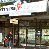 fitness company haupteingang